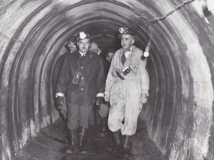 Meilleur Atlantique sewer inspection photo from 1955